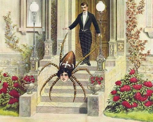 Spinnenfrau