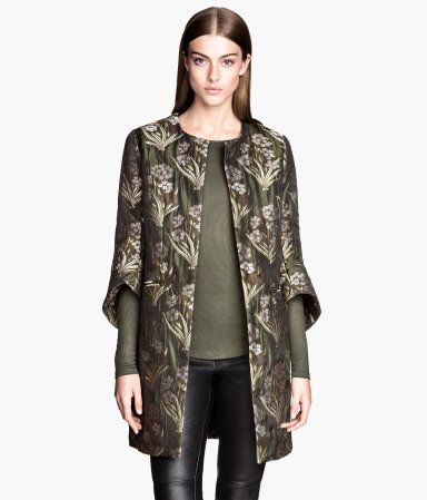 Jacquard coat from H&M - $129