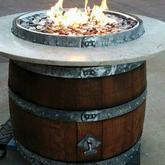 Florence Barrel Fire Pit