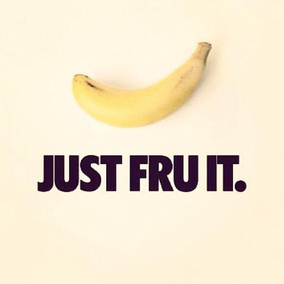 #justfruit #nike #just #do #it #banana #just #fru #it #justdoitlikenike #justfruitlikebanana #fitlife #goodmorning #happys...