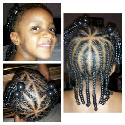 Remarkable Braided Ponytail Toddlers And The All On Pinterest Short Hairstyles For Black Women Fulllsitofus