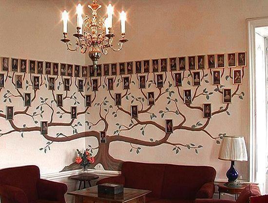 stammbaum auf die wand gemalt stammbaum design pinterest wands. Black Bedroom Furniture Sets. Home Design Ideas