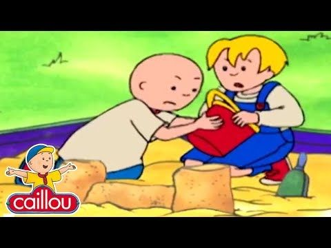 Funny Animated Cartoon Caillou Makes A New Friend Watch Cartoon Online Cartoon For Children Youtu Funny Animated Cartoon Online Cartoons Cartoon Online