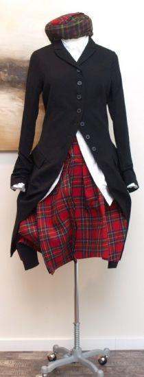 rundholz - Bluse mit Ecken white - Winter 2014 - stilecht - mode für frauen mit format...