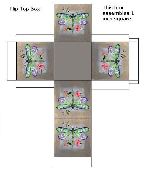 Boxes - Butterfly Dreams Miniatures