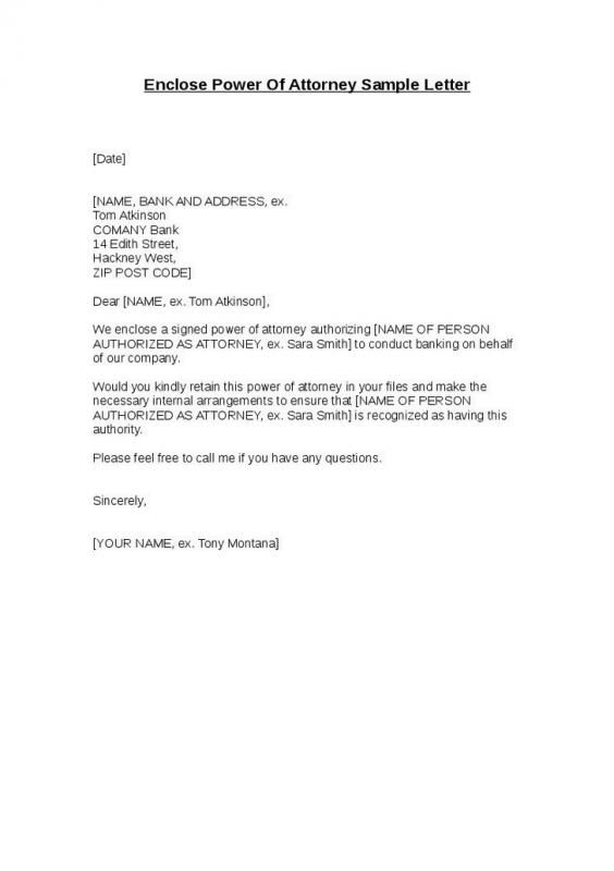 Power Of Attorney Sample Lettering Power Of Attorney Form Letter Of Recommendation