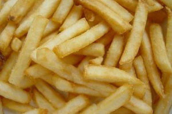 Truque para batatas fritas sequinhas