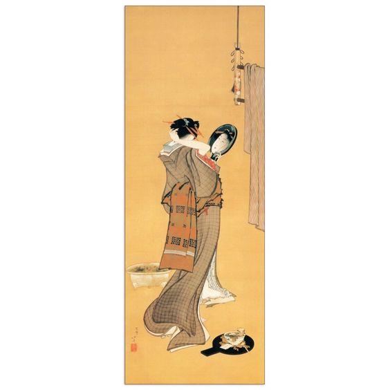 HOKUSAI - Toeletta d'estate 34x92 cm #artprints #interior #design #art #print #iloveart #followart  Scopri Descrizione e Prezzo http://www.artopweb.com/categorie/arte-moderna/EC20435