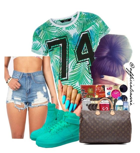 """♻"" by kingkyliewould ❤ liked on Polyvore featuring NIKE"