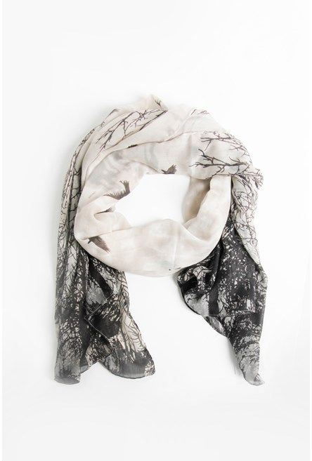 Black Bird Scarf @ Max