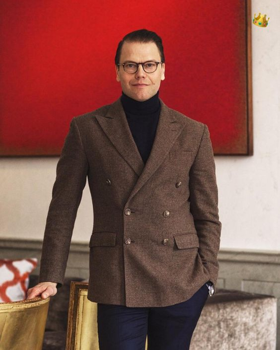 New official photos of Prince Daniel of Sweden.