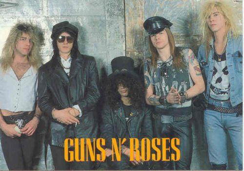 Guns N Roses  Steven Adler  Izzy Stradlin  Slash  Axl Rose  Duff McKagan