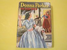 VINTAGE WHITMAN  book DONNA PARKER: ON HER OWN  teens