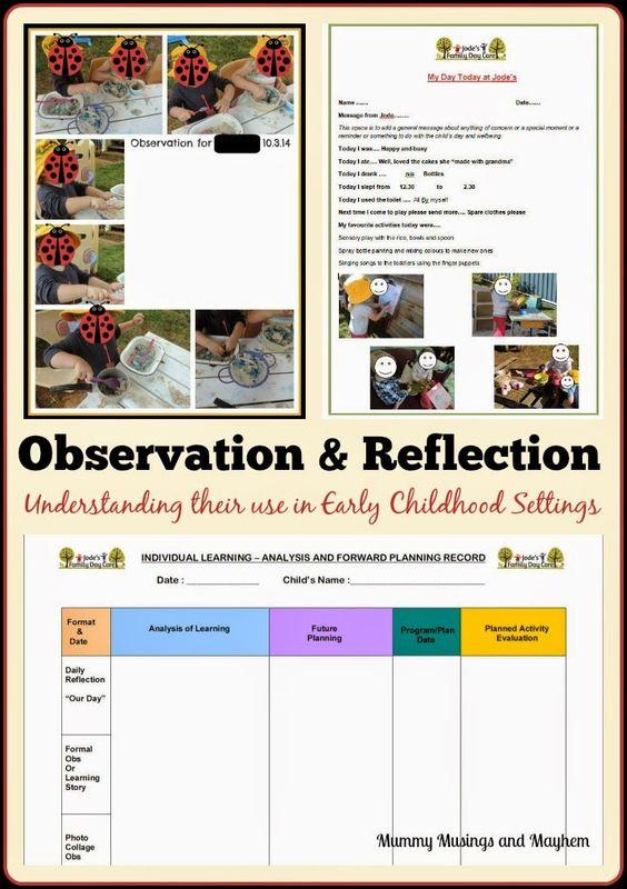 Child eating observation