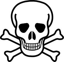 Skull And Crossbones: Pirate Party, Embroidery Design, Clip Art, Crossbones Clip, Craft Ideas, Svg Files, Party Ideas