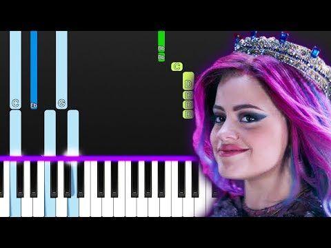 Sarah Jeffery Queen Of Mean From Descendants 3 Piano