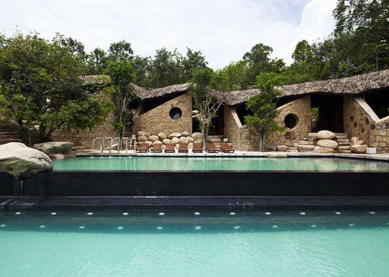 スパでリラックス Spa at I-Resort  Vietnam