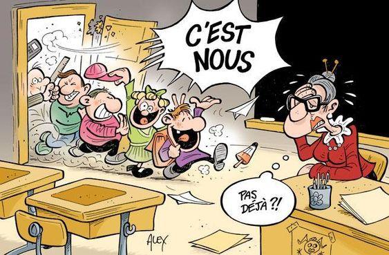 Gags : vive la rentrée scolaire !