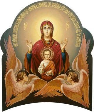 Ως θυμίαμα η προσευχή της Παναγίας ανεβαίνει στο Θρόνο του Θεού.: