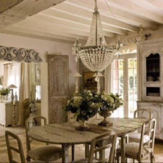 I love this dinning room