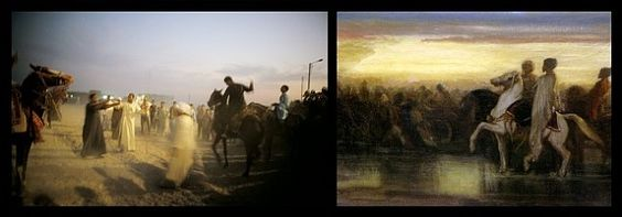 Nan Goldin, The horse races, Egypt