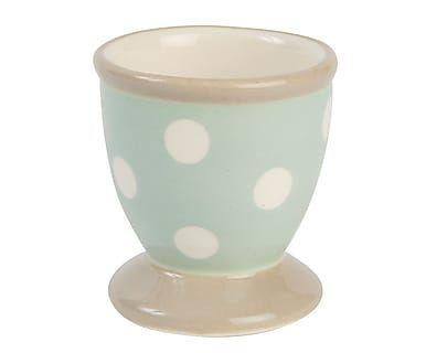 Huevera de cerámica a topos Cream & Country