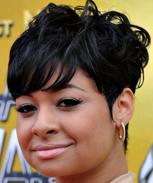 Short Black Hairstyles For Round Faces Short Hair Styles For