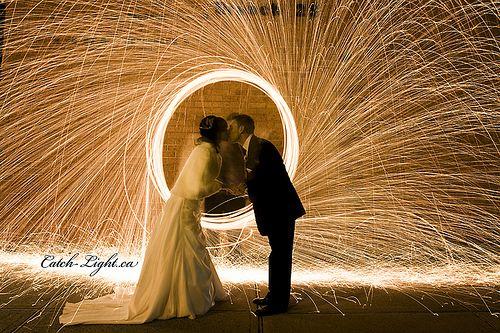 Beautiful light work #wedding #lights