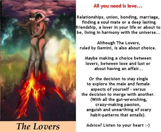 THE LOVERS http://tarotromance.com/