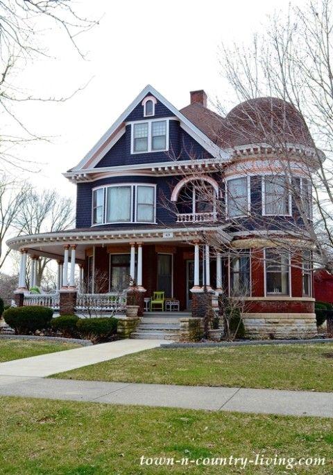 Aurora Il Historic Homes Victorian Homes Architecture House