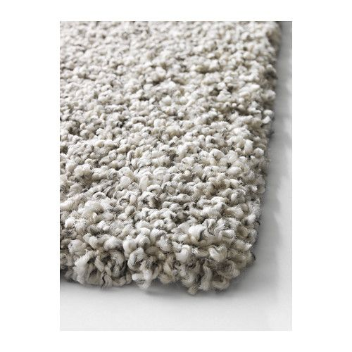 ALHEDE Rug, high pile IKEA The dense, thick pile dampens sound and provides  a