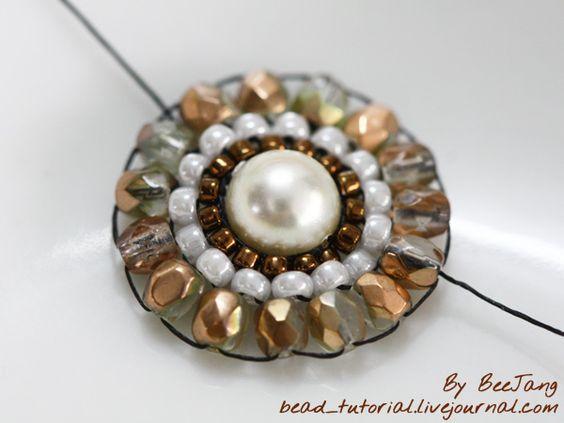 BeeJang - Tutorial: Bracelet Tutorials, Beads Tutorial, Beaded Animal, Tutorials Patterns, Bead Room