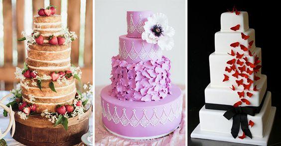 Hermosos pasteles de boda que son tan hermosos que no dan ganas de comerlos