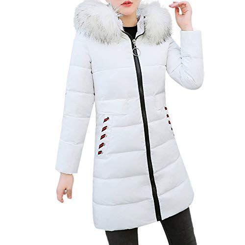 Giubbotto donna imbottito piumino cappuccio 2018 Parka Cappotto giacca Fashion