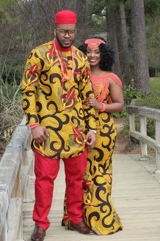 Nigerian traditional wedding attire