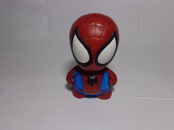 Alcancias Novedosas Spiderman - Hombrearaña - S/. 18,00 en MercadoLibre
