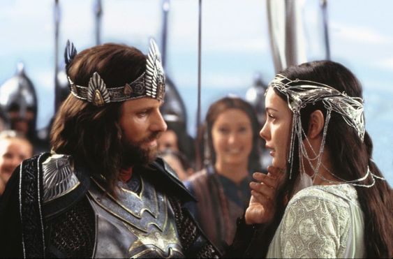 Aragorn and Arwen from Return of the King