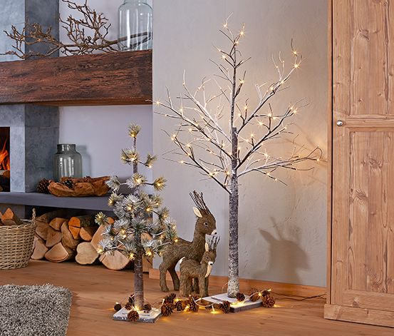 LED-Baum »Winterwunderland« Deko Pinterest Kaffee and