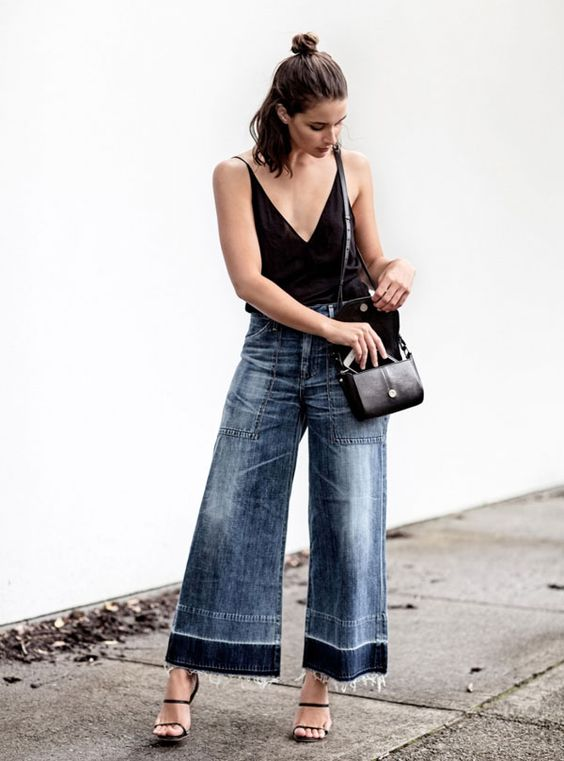 sara donaldson look culotte flare jeans