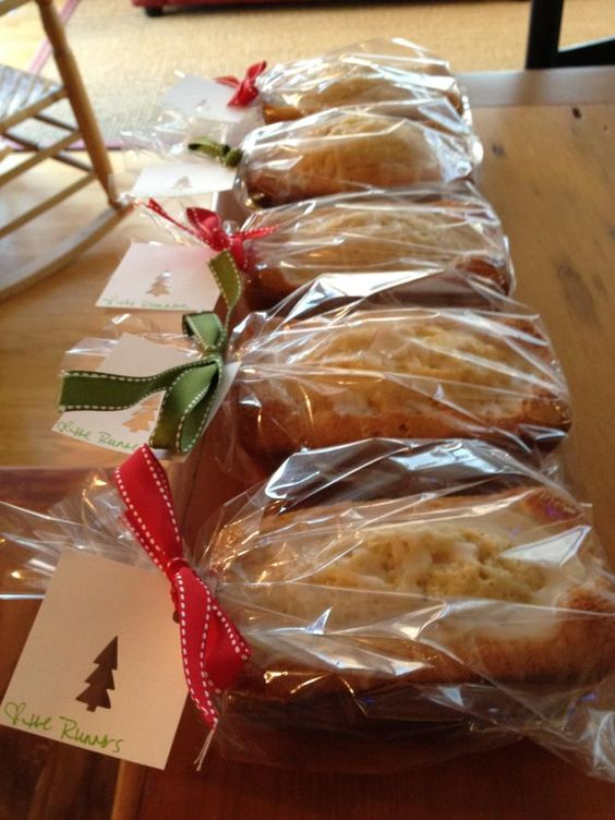 Rum Eggnog Cakes | Sweets for the Sweets | Pinterest ...