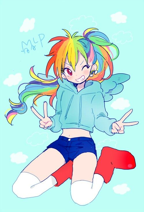 Rainbow dash - mlp: