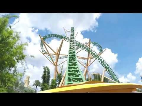 Cheetah Hunt Roller Coaster Busch Gardens Tampa Florida