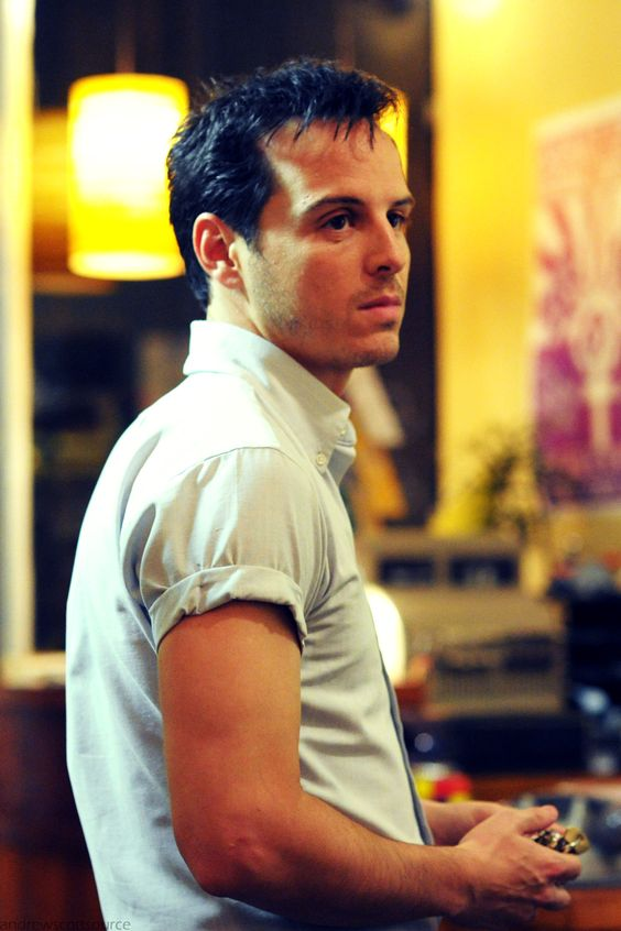 Andrew Scott as Gethin in Pride - another reason to watch the movie:)