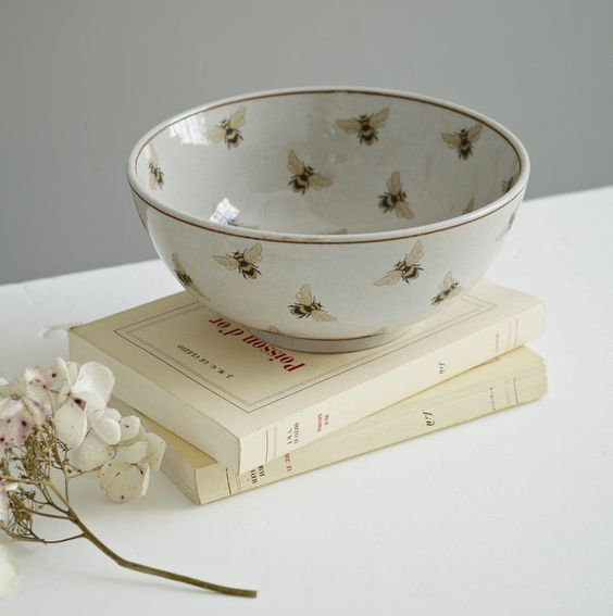 The Bee's Reverie Bee Bowl! Call A1 Bee Specialists in Bloomfield Hills, MI today at (248) 467-4849 to schedule an appointment if you've got a stinging insect problem around your house or place of business! You can also visit www.a1beespecialists.com!