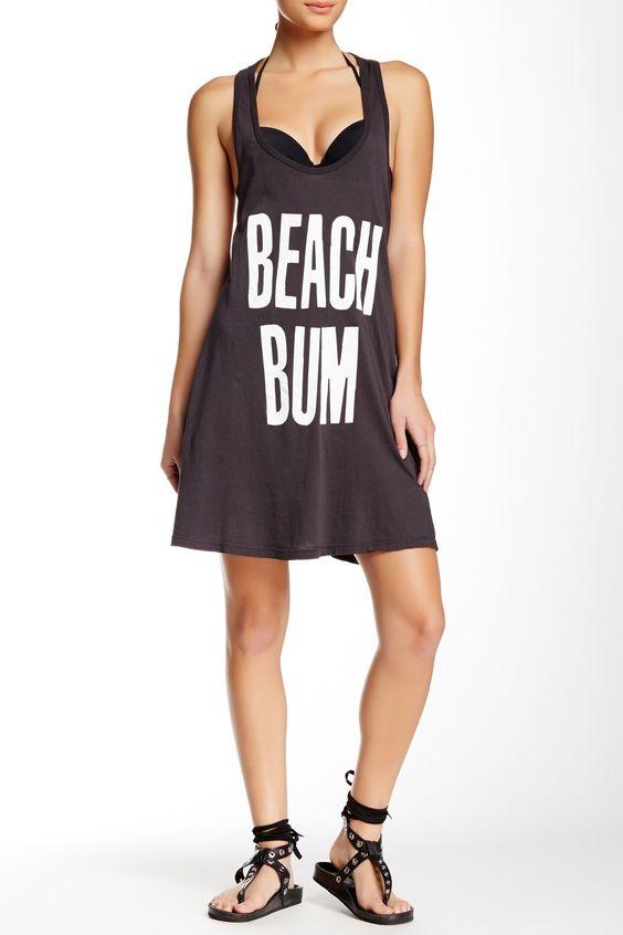 Beach Bum Oversized Tank Dress by WILDFOX