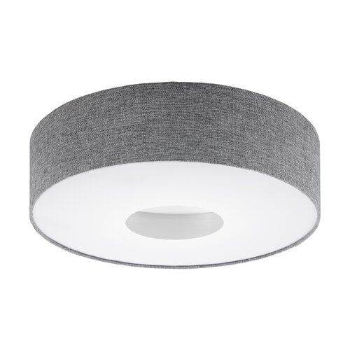 Hardrick 1 Light Led Flush Mount Brayden Studio Colour Grey Size 10cm H X 35cm W X 35cm D Led Flush Mount Led Lights Semi Flush Ceiling Lights