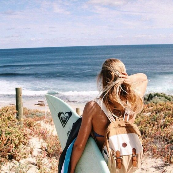 Have summer on my mind --- Roxy beach backpack
