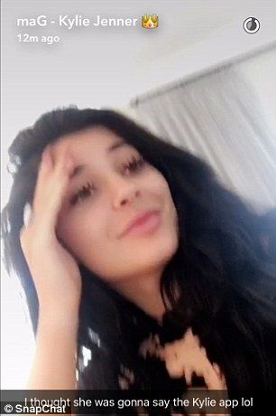 Aw: Kylie looked bummed on Snapchat as Caitlyn Jenner revealed that the first…