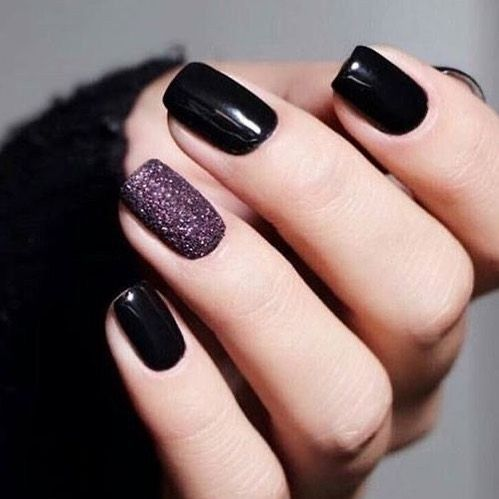 Dark Nails Winter Nail Designs Pretty Nail Art Designs Winter Nails Acrylic Short Acrylic Nails