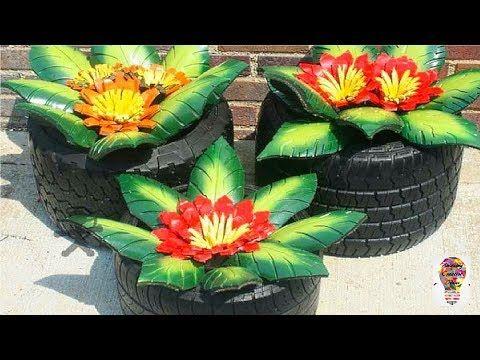 Niesamowite Pomysly Na Dekoracje Do Ogrodu 3 Youtube Plants Planter Pots Planters